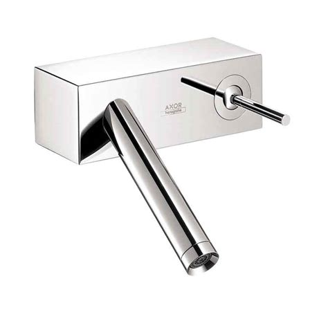Hansgrohe Shower Faucet by Shop Hansgrohe Axor Starck X Chrome 1 Handle Single