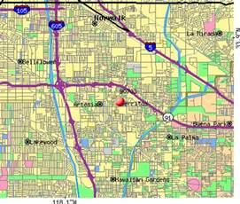 cerritos california map 90703 zip code cerritos california profile homes