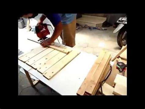 Meja Tv Dari Kayu membuat rak meja tv dari bahan kayu pallet jadi