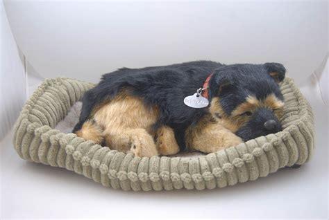 petzzz puppy german shepherd like stuffed animal breathing petzzz ebay