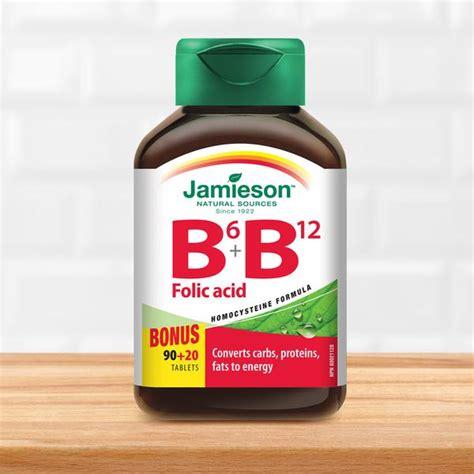 Vitamin Folic Acid Vitamin B6 B12 And Folic Acid Jamieson Vitamins