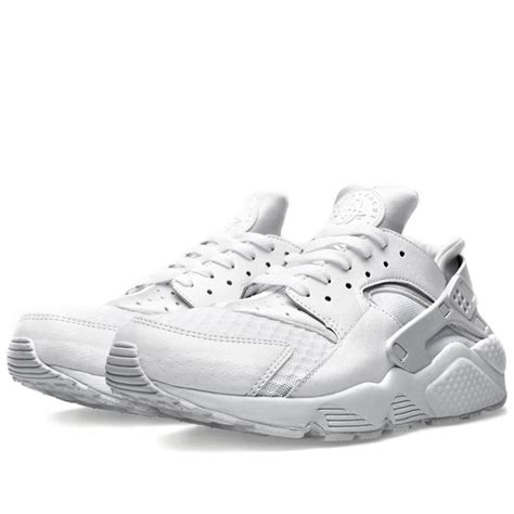 all white nike mens shoes price 65 nike air huarache all white 318429 111 white