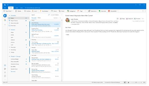 How To Search Outlook Email By Date Microsoft Is Working On A Beautiful New Redesign For The