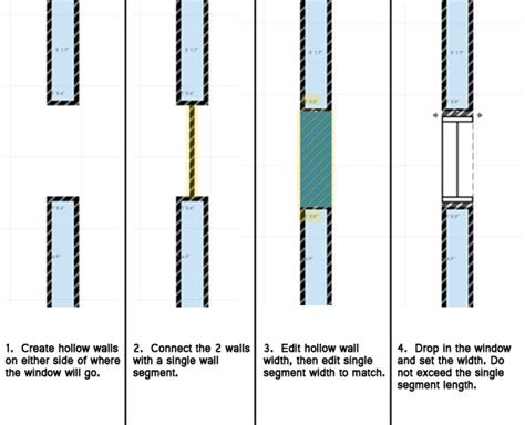 window in plan from standard to spectacular windows homebyme