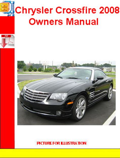 chrysler crossfire 2008 owners manual download manuals tech