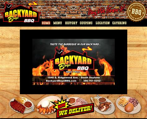 backyard boys bbq family feast for 5 just 49 99 69 99