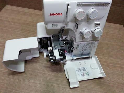 Mesin Obras Multifungsi jual mesin obras janome 8002d portable multifungsi