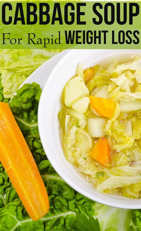 10 Day Detox Diet Cabbage Soup by Cabbage Soup Diet For Rapid Weight Loss Food