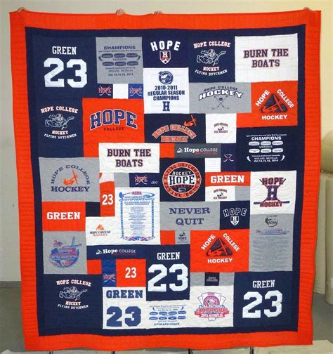 College T Shirt Quilt 10 best images about school spirit t shirt quilts on