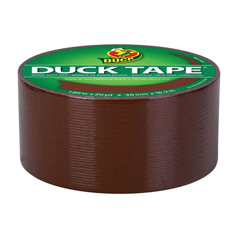color duct color duct brown 1 88 in x 20 yd duck brand
