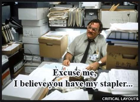 Office Space Stapler Quote office space quotes dell ca kensington accessories
