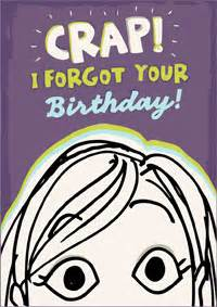 belated birthday card free and printable