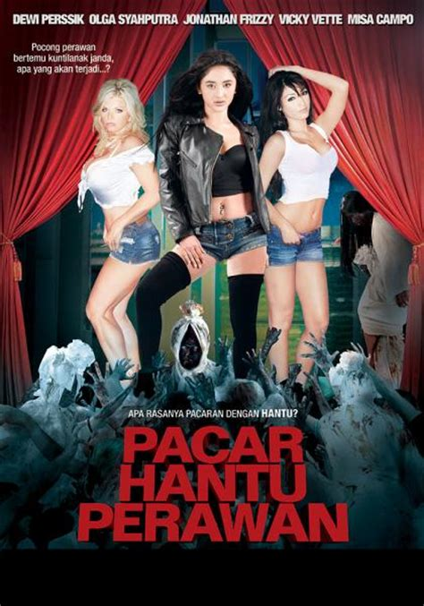 film hantu semi indonesia half naked women ghosts belly dancing and a monkey