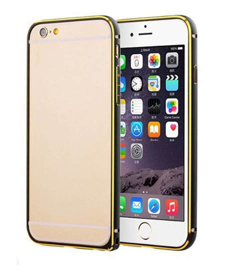 Kesing Housing Cassing Apple Iphone 6g cnc black metal bumper for apple iphone 6g bumpers at low prices snapdeal india