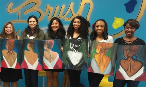 redeem paint nite groupon paint admission brush painting lounge groupon