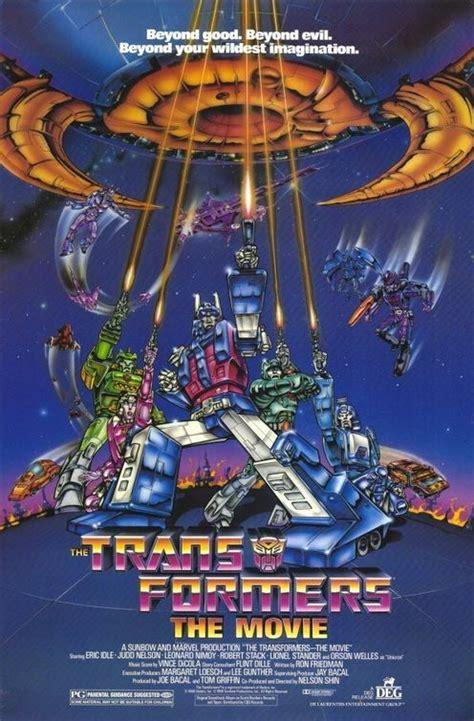 Transformers Movie 1986 Film Transformers The Movie 1986 Movie Posters Pinterest