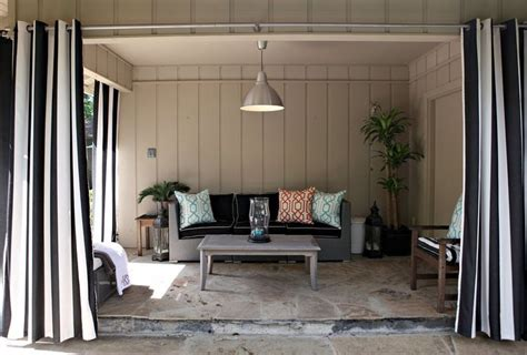 covered patio curtains cute look covered patio curtains outdoors pinterest