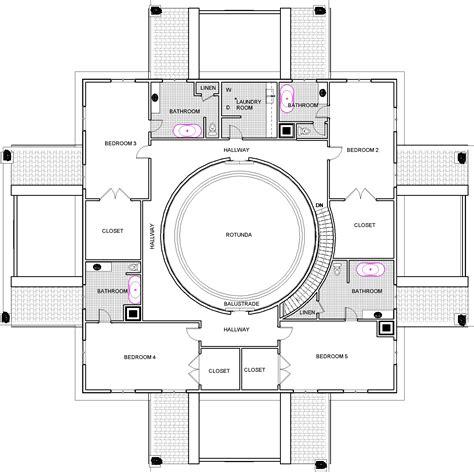 Multi Generational Floor Plans by Villa Rotunda 2 A Point In Design