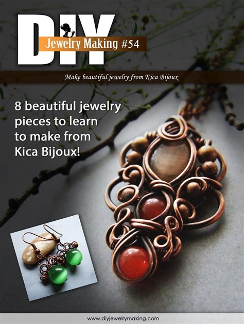 free jewelry magazines free access to 8 wire jewelry tutorials from diy jewelry