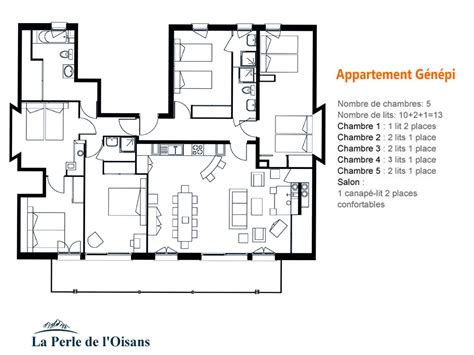 Appartement 3 Chambres Location by G 233 N 233 Pi Appartement Montagne 12 14 Personnes 5