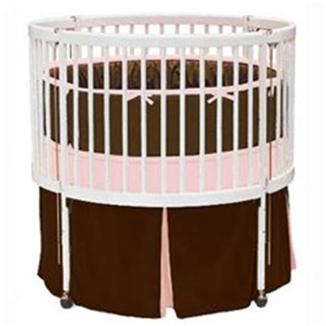 Baby Crib Colors by Solid Color Crib Bedding Color Brown Pink