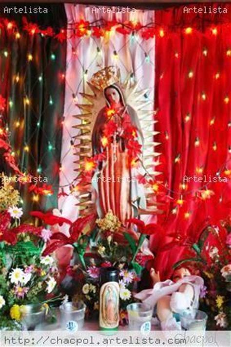 como decorar para la virgen de guadalupe hola necesito ideas como arreglar altar a la virgen de