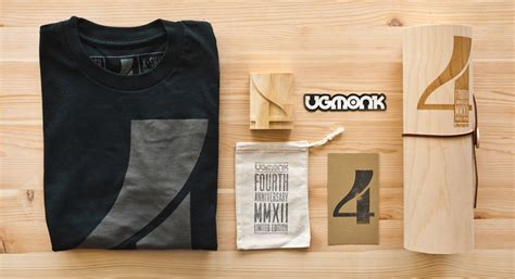 Tshirt Kaos Wtaps ugmonk 4th anniversary lovely package