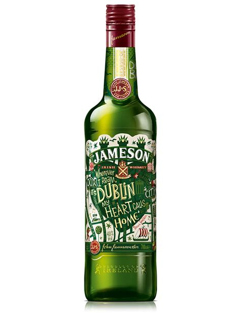 jameson limited edition bottle the dieline packaging