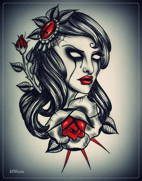 tattoo flash girl girl tattoos and designs page 241