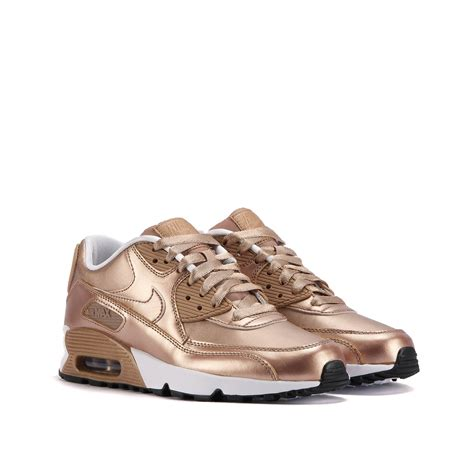 Nike Airmax9 0 nike air max 90 se leather gs quot bronze pack quot bronze