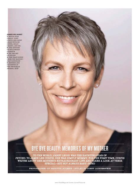 how to get the jamie lee curtis haircut pictures of jamie lee curtis with short hair front and