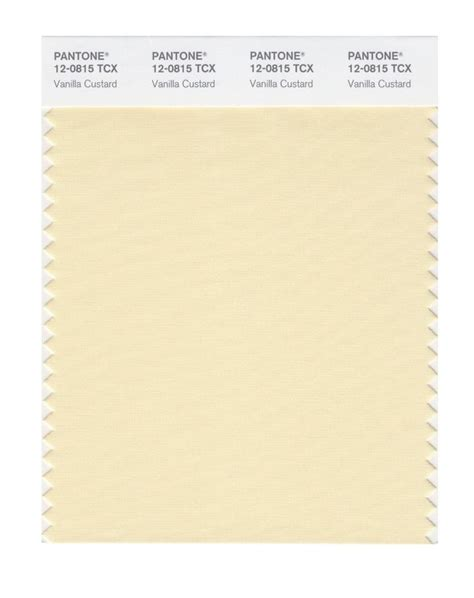 pantone smart swatch 12 0815 vanilla custard s s 2015 pantone color chart