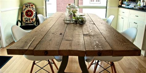 make your own dining table diy