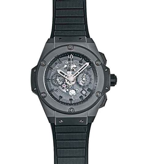 power play reviewing the hublot king power unico all black swiss watches buying guide uk