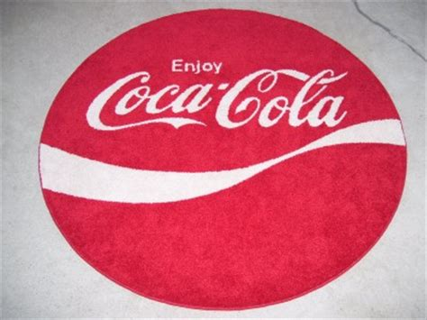 coca cola rug custom coke enjoy coca cola 70s logo area rug ebay