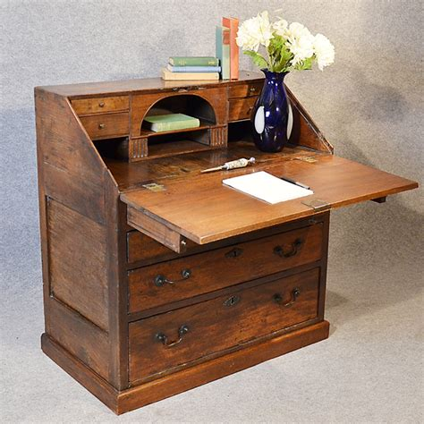 bureau large 17th century writing desk antiques