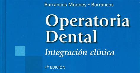 descarga libros odontologia libros de odontologia descarga gratis operatoria dental