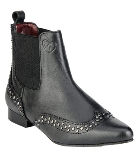 snapdeal boots delize black flat boots price in india buy delize black