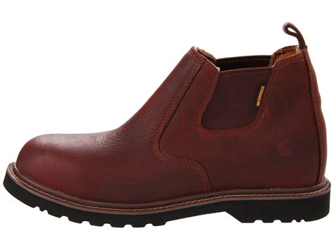 carhartt romeo boots carhartt cms4200 4 quot safety toe romeo boot at zappos
