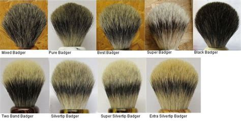 Types Of Hair Knots by Top Quality Silvertip Badger Hair Brush Buy