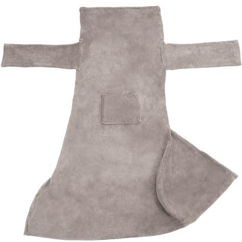 sofa blanket with sleeves blanket with sleeves and pocket snuggle throw sofa bed