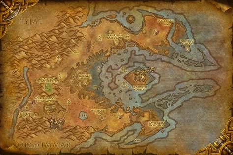 wow map the reaches azshara map world of warcraft cataclysm