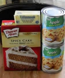 Apple Spice Dump Cake Crock Pot