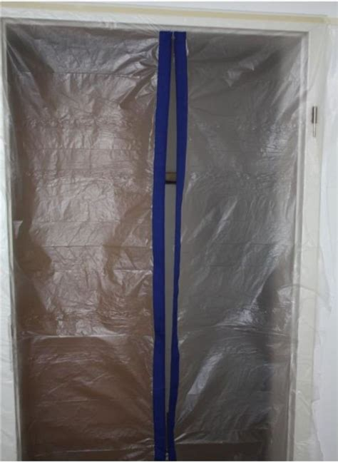 Door Dust Protector by Complete Professional Dust Guard Dirt Sluice Construction