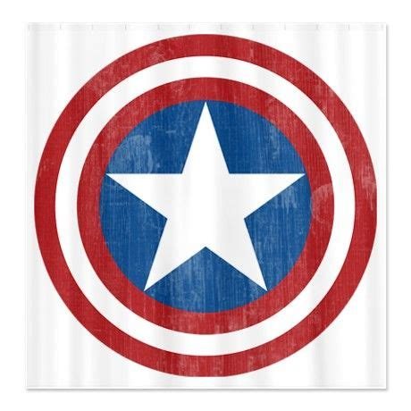 captain america curtains shower curtains captain america star and curtains on