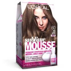 l oreal excellence mousse permanent foam 5 65 true hair colour what s it worth sublime mousse by healthy looksup sup 60 light brown permanent l oreal hair