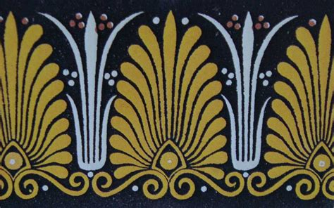 greek motif architectural ornamentation the anthemion motif agnes ashe