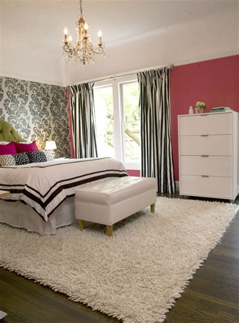 modern girly bedroom eclectic bedroom other metro by niche interiors