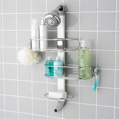 bathroom caddies shower the basics about shower caddies ideas 4 homes