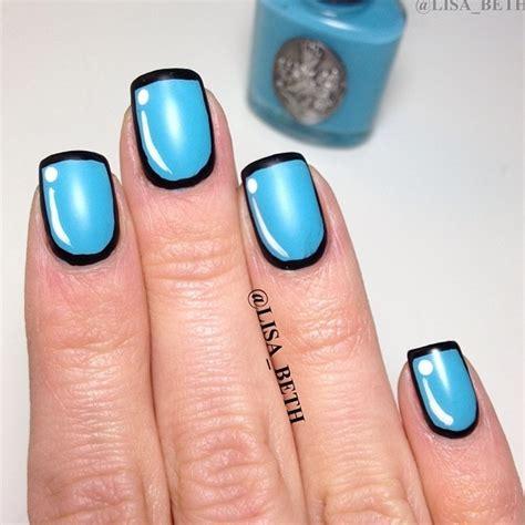 easy nail art by cutepolish cartoon nails inspired by cutepolish nailspotting